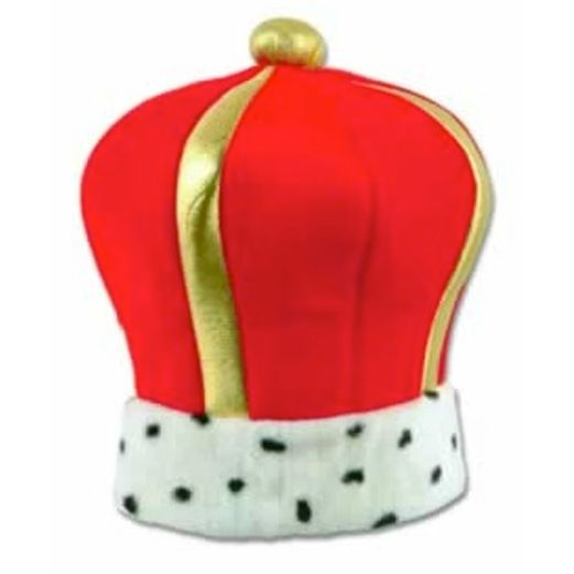 Mardi Gras Hats & Headwear King's Plush Crown Image