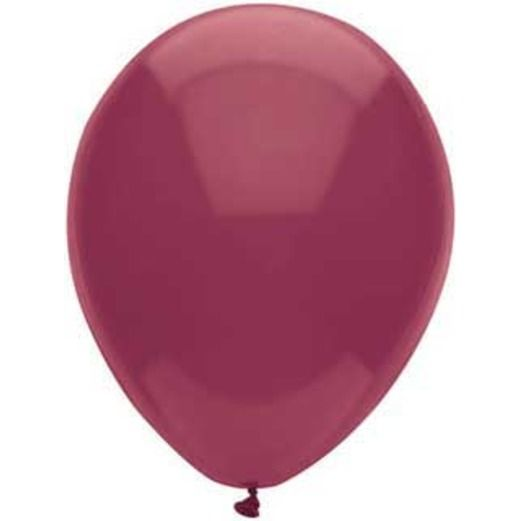 "Balloons 11"" Burgundy Value Balloons Image"
