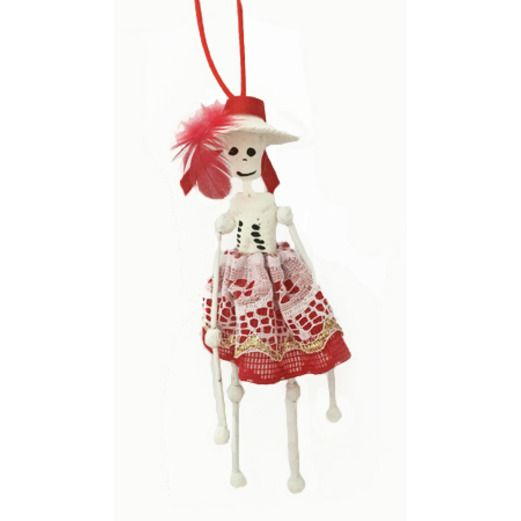 Hanging Catrina Skeleton