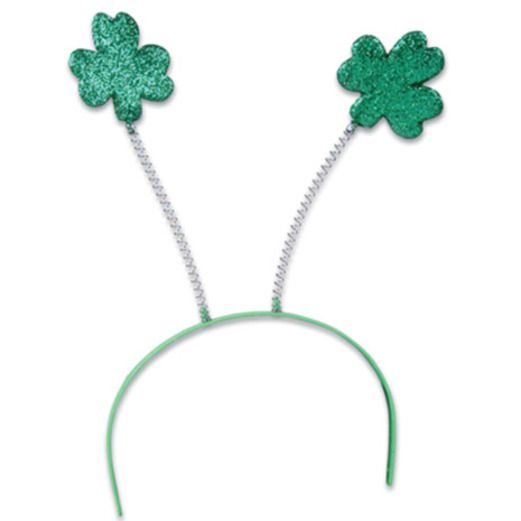 St. Patrick's Day Hats & Headwear Shamrock Head Boppers Image