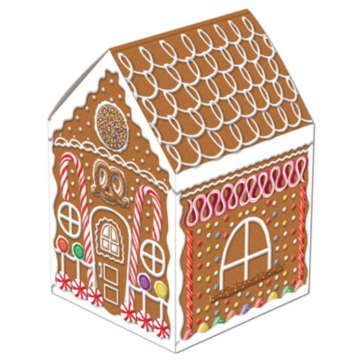 Christmas Decorations Gingerbread House Centerpiece Image