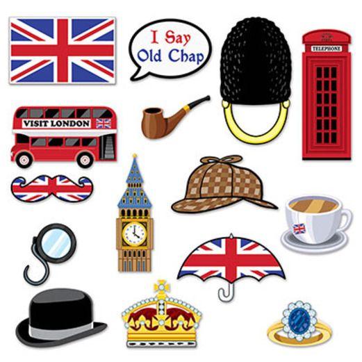 International Decorations British Photo Fun Signs Image