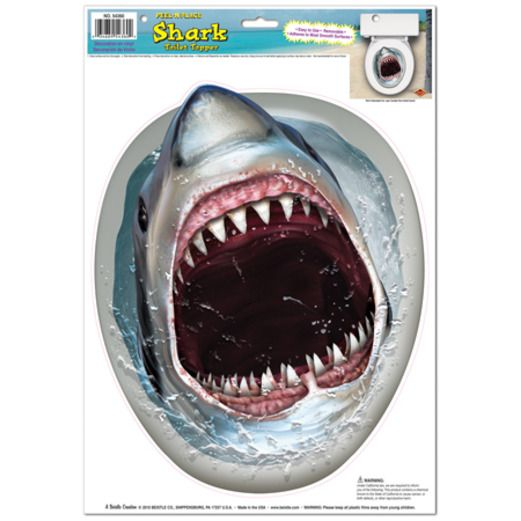 Shark Toilet Peel n Place