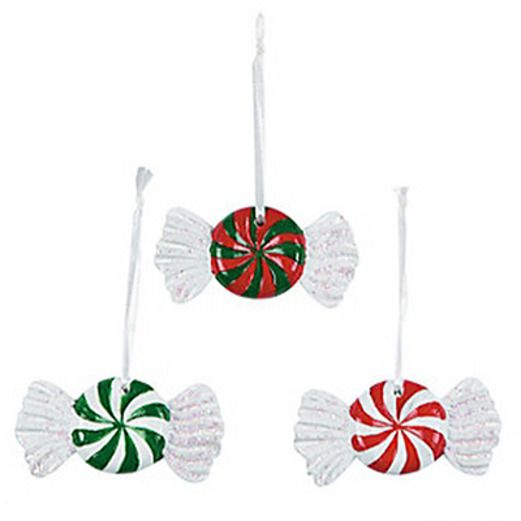Christmas Decorations Peppermint Ornament Image