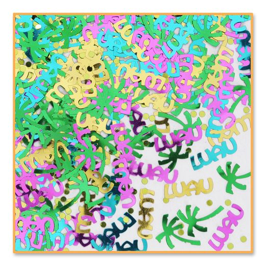 Luau Decorations Luau Party Confetti Image