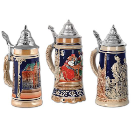 International Decorations Beer Stein Cutouts Image