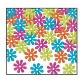 60s & 70s Decorations Retro Flower Confetti Image