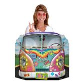60s & 70s Decorations Hippie Bus Photo Prop Image