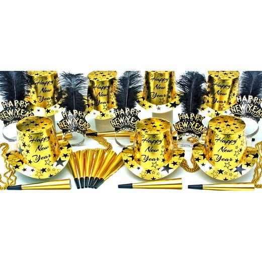New Years Party Kits Gold Star Struck for 50 Image