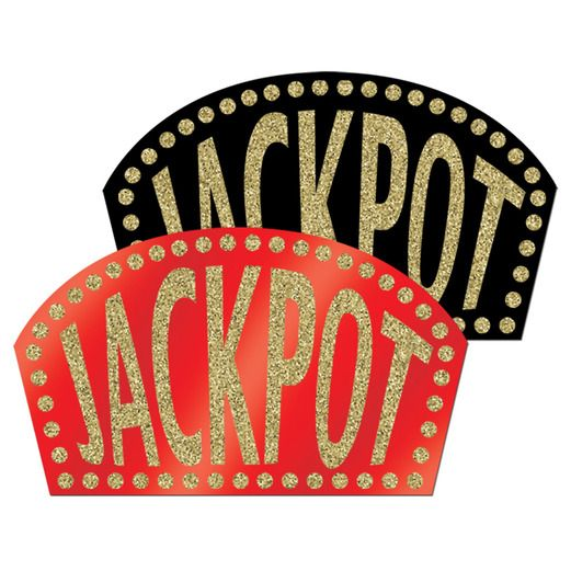 Casino Decorations Jackpot Sign Image
