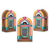 Fifties Decorations Jukebox Favor Boxes Image