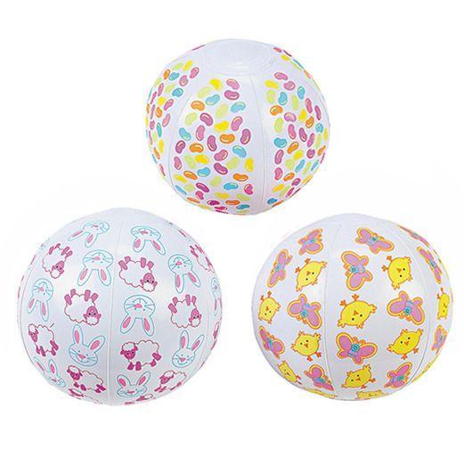 Easter Favors & Prizes Mini Easter Beach Balls Image
