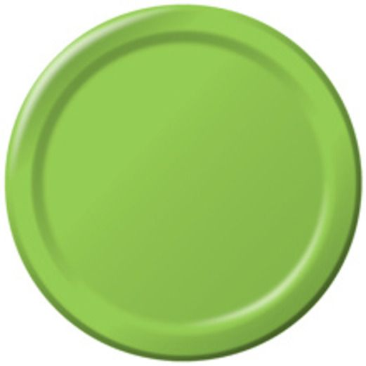 Baby Shower Table Accessories Light Green Dessert Plates Image
