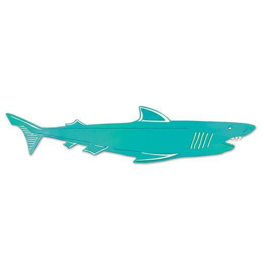 Luau Decorations Shark Cutout Image