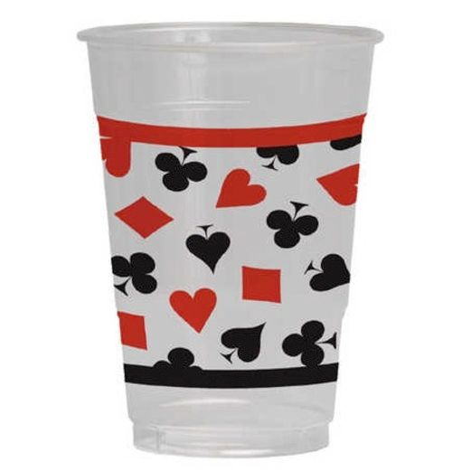 Casino Table Accessories Card Night Plastic Cups Image