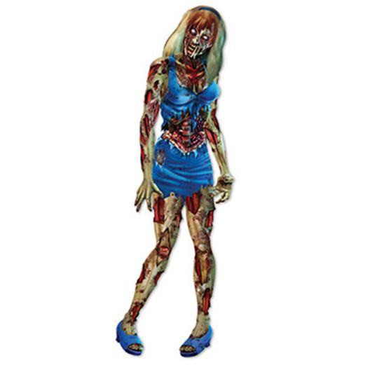 Halloween Decorations Jointed Zombie Girl Image