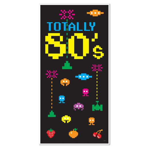 80s Decorations 80s Door Cover Image