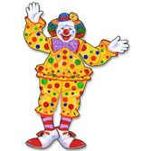 Birthday Party Decorations Circus Clown Cutout Image