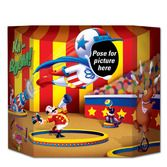 Birthday Party Decorations Circus Photo Prop Image