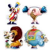 Birthday Party Decorations Circus Cutouts Image