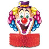 Birthday Party Decorations Circus Clown Centerpiece Image