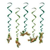 Jungle & Safari Decorations Monkey Whirls Image