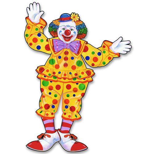 Circus Clown Cutout