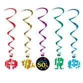 80s Decorations 80s Whirls Image