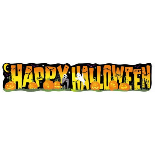Halloween Decorations Giant Halloween Banner Image