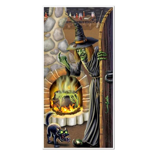 Halloween Decorations Witch's Brew Door Cover Image