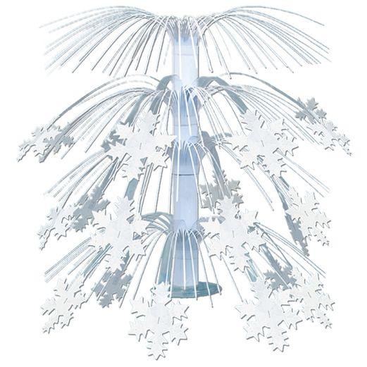 Table Accessories / Centerpieces Snowflake Cascade Centerpiece Image