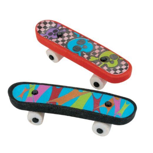 Favors & Prizes Skateboard Erasers Image