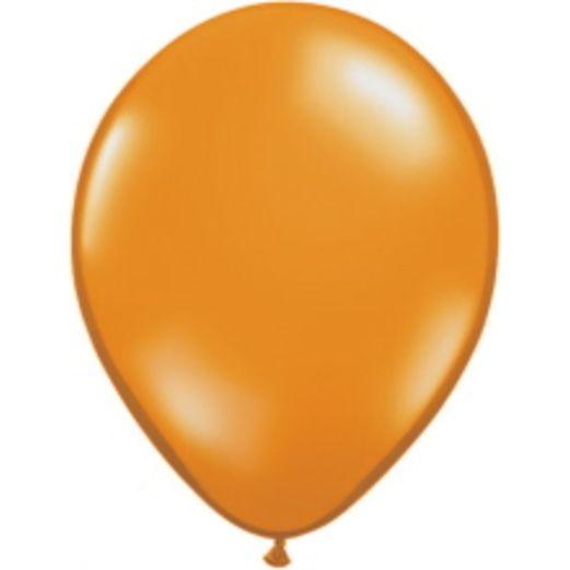"Halloween Balloons 5"" Orange Balloons Image"