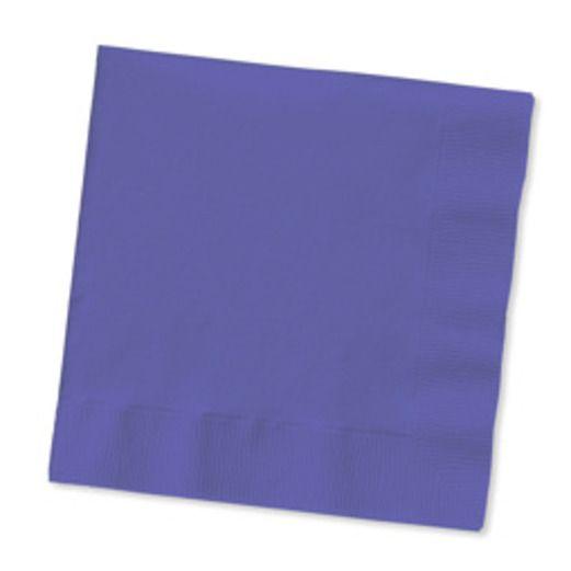 Mardi Gras Table Accessories Purple Luncheon Napkins Image