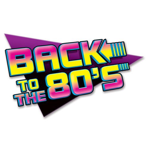 Back to the 80s Cutout