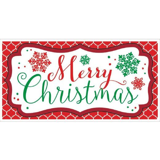 Christmas Decorations Merry Christmas Banner Image