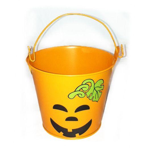Halloween Favors & Prizes Jack O' Lantern Pail Image
