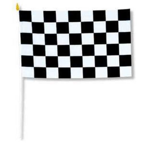 Sports Decorations Racing Rayon Flags Image