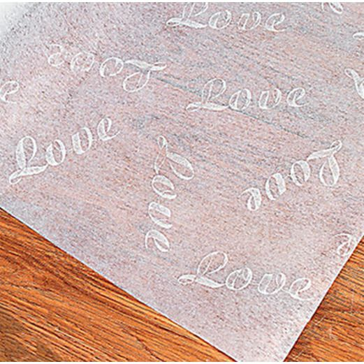 Wedding Love Print Aisle Runner Image