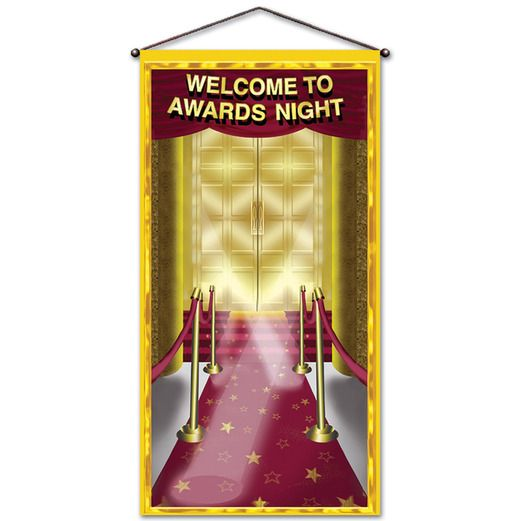 Awards Night & Hollywood Decorations Awards Night Door Panel Image