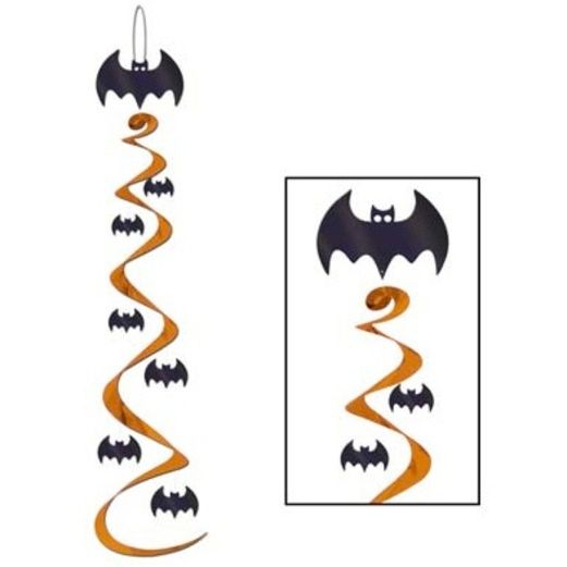 Halloween Decorations Bat Whirls Image
