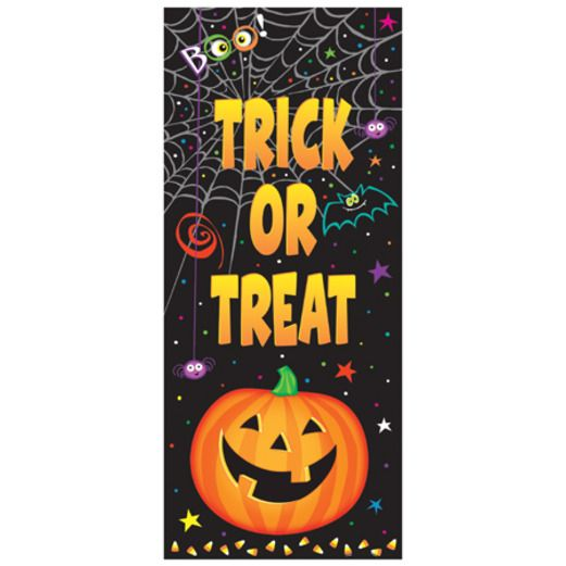 Halloween Decorations Pumpkin Pal Door Cover Image