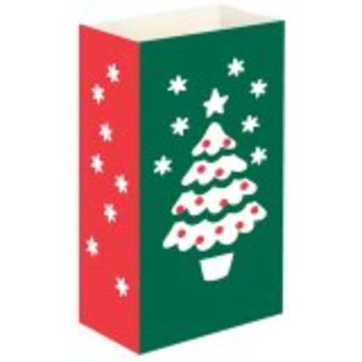 Christmas Decorations Christmas Tree Luminary Bags Image