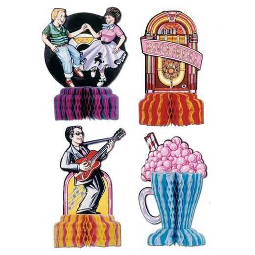 Fifties Decorations 50's Playmates Image