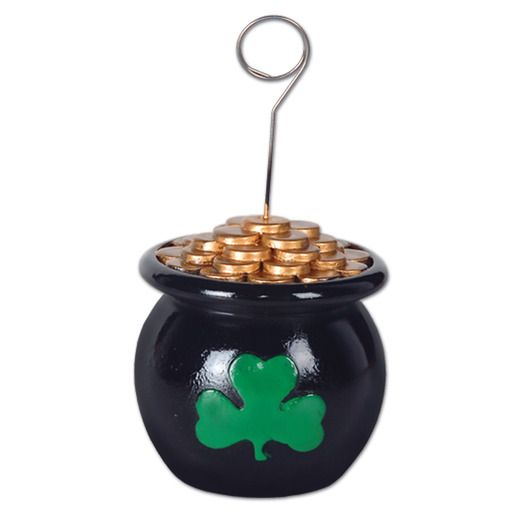 St. Patrick's Day Decorations Pot o' Gold Photo Holder Image