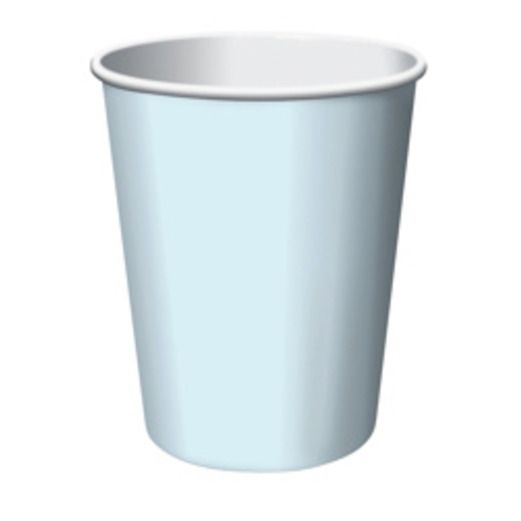 Baby Shower Table Accessories Light Blue Cups Image