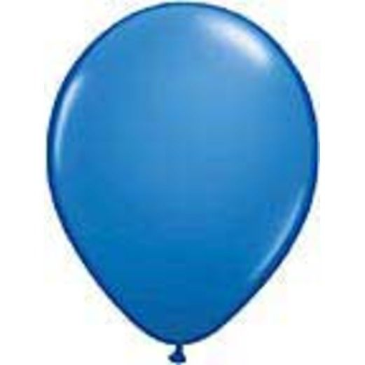 Balloons 3' Dark Blue Latex Balloon Image