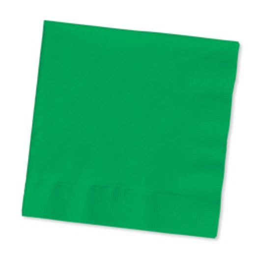 St. Patrick's Day Table Accessories Green Beverage Napkins Image