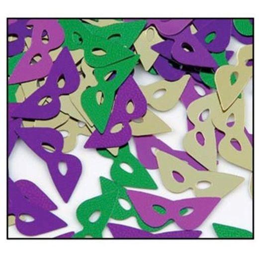 Mardi Gras Decorations Mardi Gras Mask Confetti Image