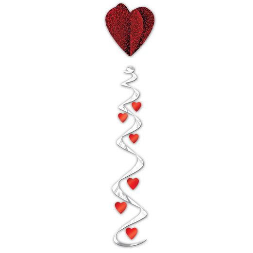 Valentine's Day Decorations Jumbo Heart Whirl Image